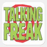 Talking Freak G Square Stickers