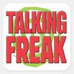 Talking Freak R Sticker