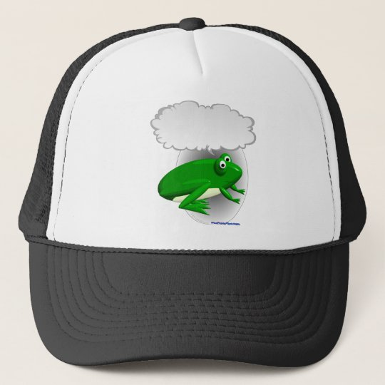Talking Frog Trucker Hat