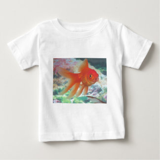 Talking Goldfish Baby T-Shirt