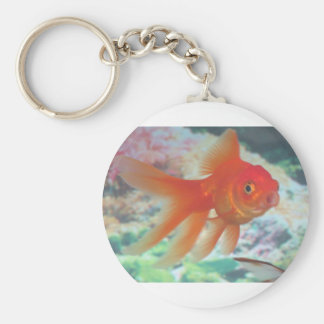Talking Goldfish Keychain
