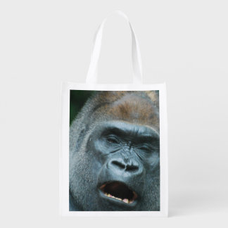 Talking Gorilla Reusable Grocery Bags
