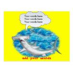Talking Hammerhead Shark Postcard
