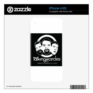 Talking in Circles iPhone 4 Skins