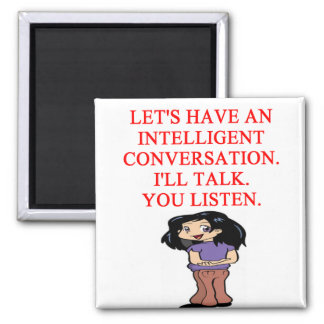 talking insult 2 inch square magnet