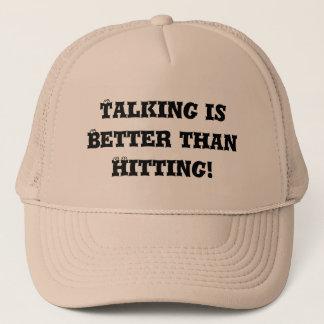 Talking is Better than Hitting - Anti Bully Trucker Hat