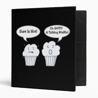 Talking Muffin Joke Binder