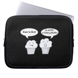Talking Muffin Joke Electronics Bag