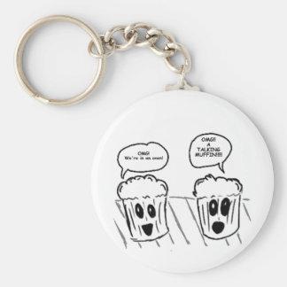 Talking Muffin Keychain