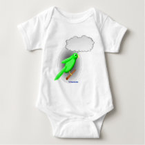 Talking Parrot Baby Bodysuit