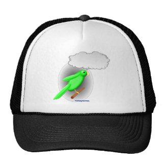 Talking Parrot Trucker Hat