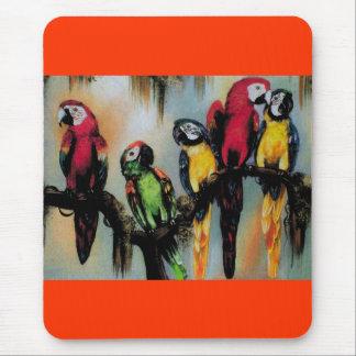 Talking Parrots ~ Mousepad