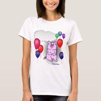 Talking Pink Party Pig T-Shirt