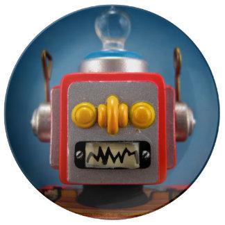 Talking Robot Plate