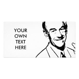 Talking Ron Paul Photo Greeting Card