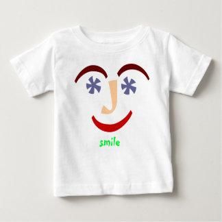 """""""Talking Shirts"""" """"Smile"""" Baby T-Shirt"""