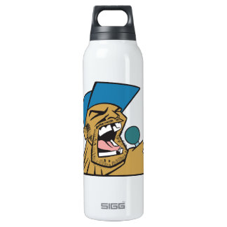 Talking Smack 16 Oz Insulated SIGG Thermos Water Bottle