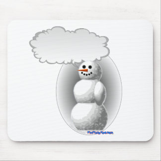 Talking Snowman Mouse Pad