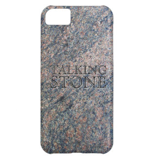 Talking Stone Cover For iPhone 5C