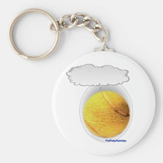 Talking Tennis Ball Keychain