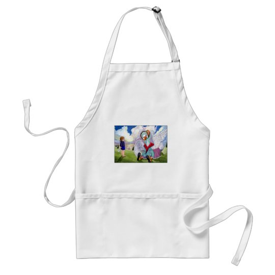 Talking to Mother Goose Adult Apron