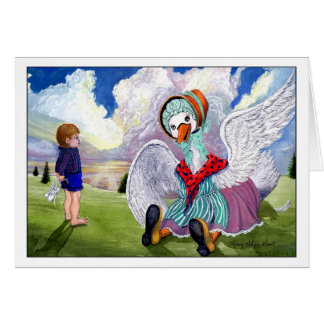Talking to Mother Goose Card