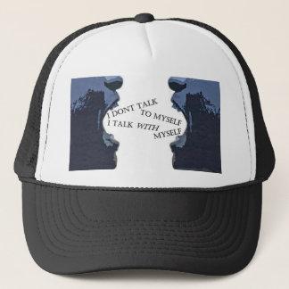 TALKING TO MYSELF TRUCKER HAT