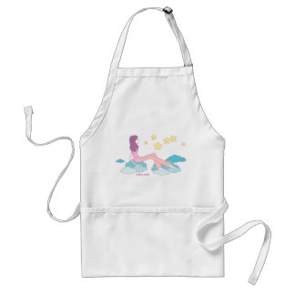 Talking to the Stars Doodle Art Apron
