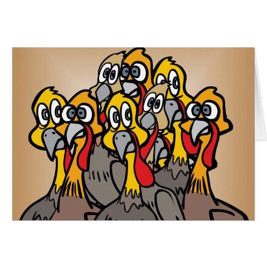 Talking Turkey Card