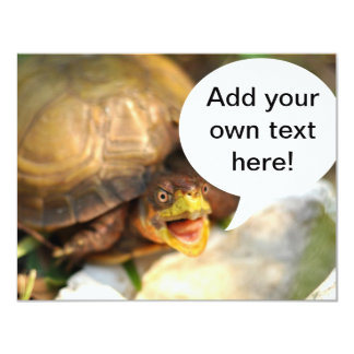 Talking Turtle Says What's on Your Mind Card