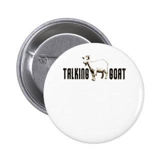 TalkingGoat2 Pinback Button