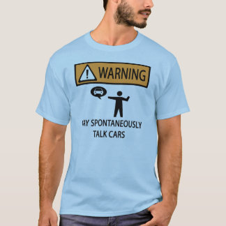 Talks About Cars T-Shirt