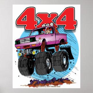 Tall 4x4 minitruck poster