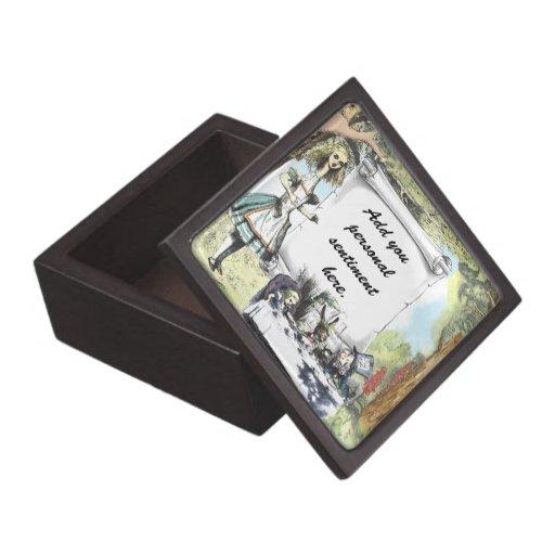 Tall Alice 1 Premium Keepsake Boxes
