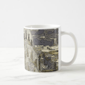Tall and Glorious Buildings of the Big Apple Coffee Mug