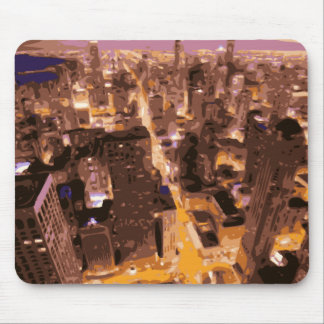 Tall and Glorious Buildings of the Big Apple Mouse Pad