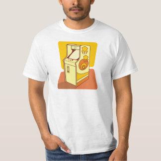 Tall arcade game console tshirts