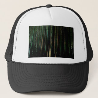 Tall Bamboo at Night. Trucker Hat
