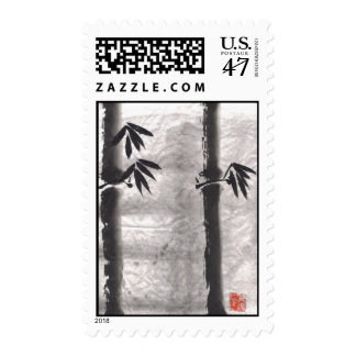 Tall Bamboo Postage Stamps