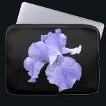 "Tall Bearded Purple Iris Laptop Sleeve<br><div class=""desc"">Tall bearded purple irises are a beautiful and elegant treasure of nature.</div>"