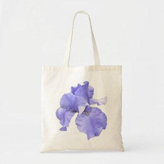 Tall Bearded Purple Iris Tote Bag