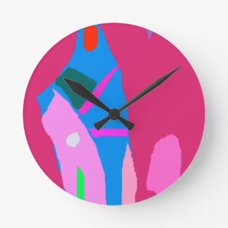 Tall Building Child Dream Intelligence Library Round Clock
