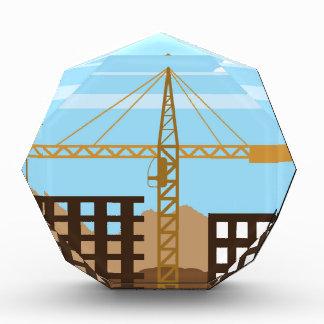 Tall building Crane sky Acrylic Award