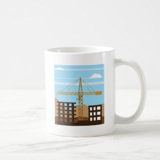 Tall building Crane sky Coffee Mug