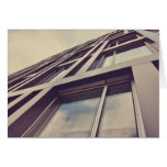 Tall building greeting cards