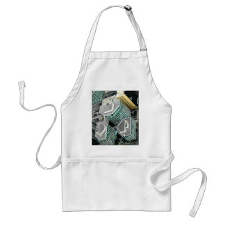 Tall Buildings Adult Apron