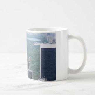 tall buildings coffee mug