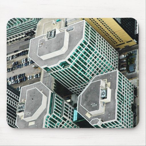 Tall Buildings Mouse Pad