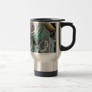 Tall Buildings Travel Mug