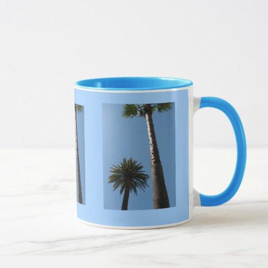 Tall California Palm Trees Coffee Mug